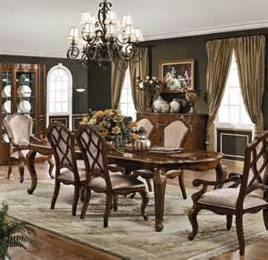 Traditional Dining Room Sets Carneros Dining Set Traditional Dining Room Other Metro By Collections