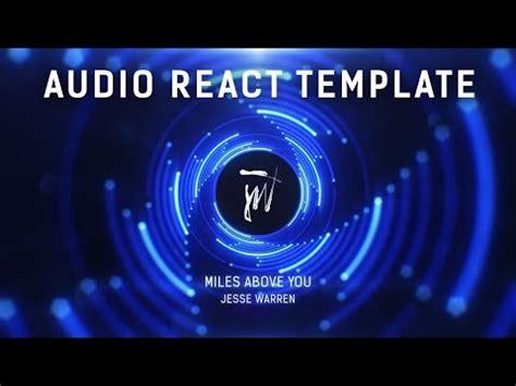 audio spectrum template audio spectrum visualizer template