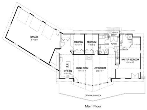 luxury ranch floor plans one level ranch style home floor plans luxury one level