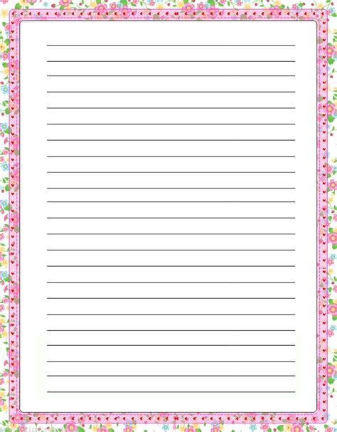 border writing paper printable free 17 best images about borders on free printable