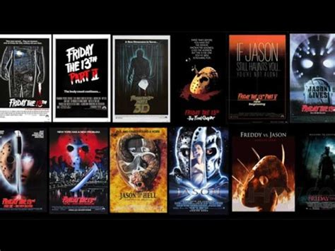 film seri friday the 13th friday the 13th franchise review youtube