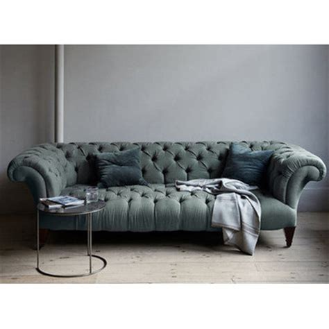 Mulberry Chesterfield Sofa Canvas Home Wayfair