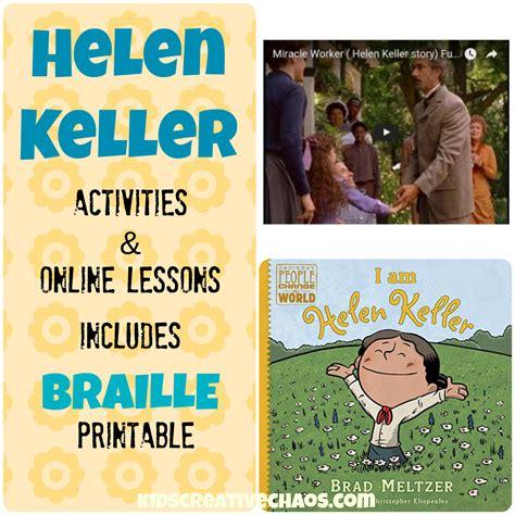 helen keller biography middle school helen keller lesson plans elementary middle school kids