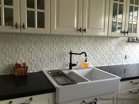 white tin backsplash best 25 pressed tin ideas on tin tile backsplash kitchen backsplash tin and