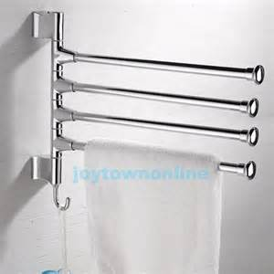 stainless steel polished towel rack holder kitchen