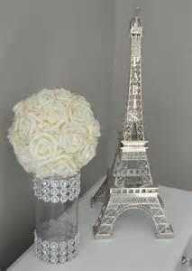 eiffel tower centerpiece parisians theme decor by