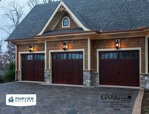 3 car garages amicalola cottage house plan 12068 3 car garage