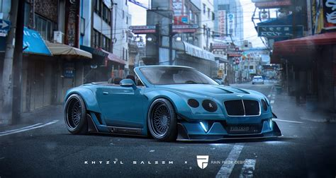 widebody cars dreaming up a widebody bentley continental gt