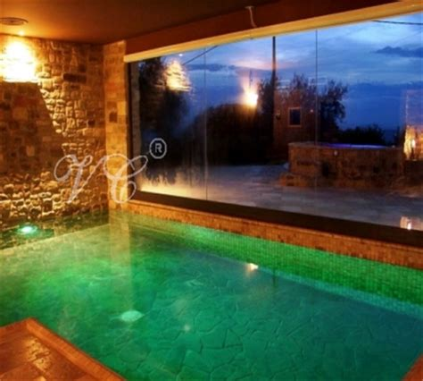 piscina interna casa villa con piscina interna riscaldata e sauna sul lago