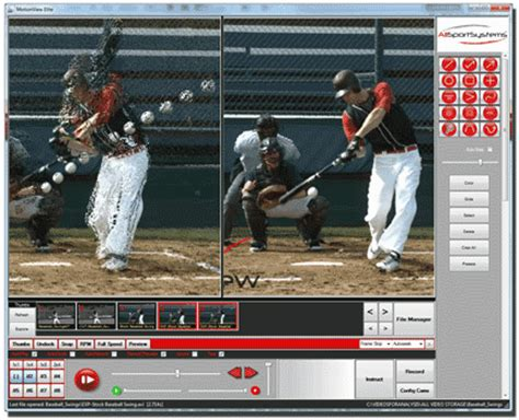baseball swing analysis software free motionview video analysis software and coaching systems