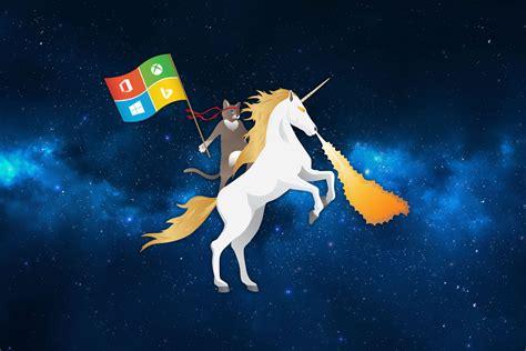 wallpaper cat unicorn ms ninja cat riding unicorn space blue by flothegangsta on