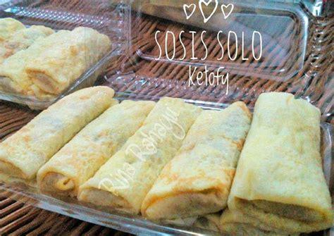 resep sosis solo versi keto oleh rina ayman rahayu cookpad