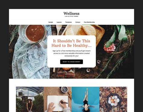 Studiopress Wellness Pro Theme wellness pro a holistic solution for a healthy website