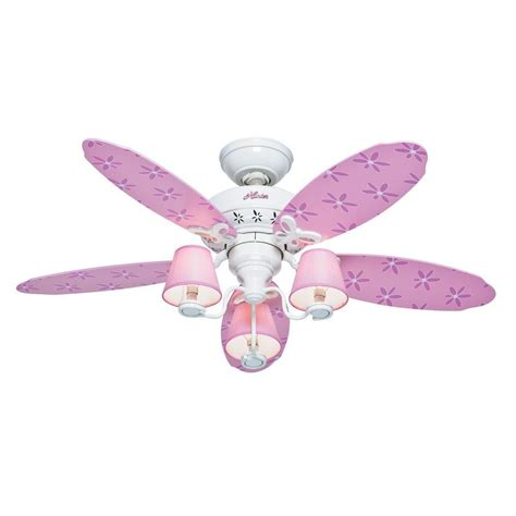 children s ceiling fans lowes 44 in dreamland pink and white indoor ceiling