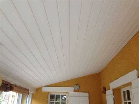 Lambris Blanc Plafond lambris bois blanc lege cap ferret gironde