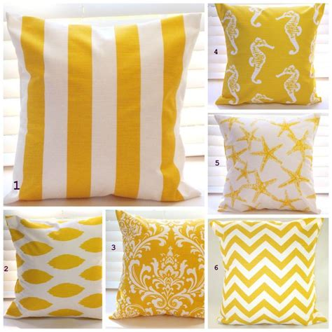 yellow couch pillows pillow cover pillow decorative throw pillow beach decor