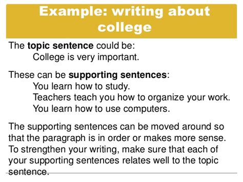 How To Make A Topic Sentence For A Research Paper - essay topic sentence exles exles of topic
