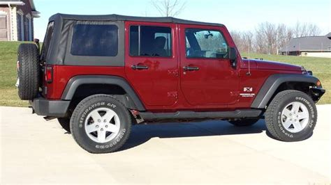 Jeep Wrangler For Sale Iowa 2009 Jeep Wrangler Unlimited X For Sale In Dubuque Iowa