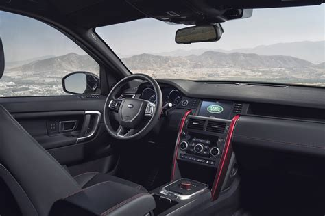 land rover discovery sport interior 2017 2017 land rover discovery sport reviews and rating motor