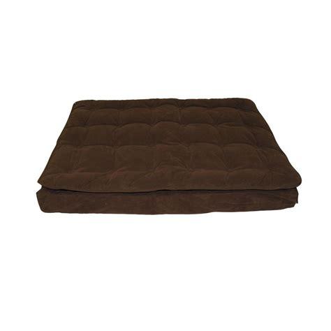Carolina Mattress Company by Carolina Pet Company Large Chocolate Luxury Pillow Top