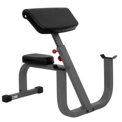 curl bench fitness equipment xmark xm 7612 preacher curl bench