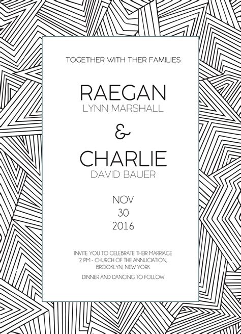 Wedding Invitation Card Printing Lines In lines digital printing wedding invitations