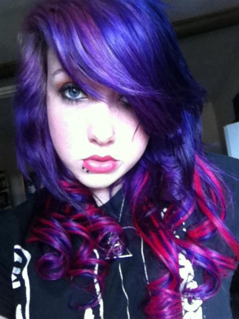 red hair with blue highlights 1000 images about hair on pinterest my hair blue hair