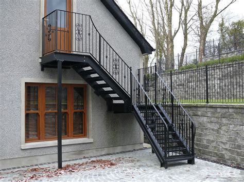 Stair Banisters Fire Escape Stairs External Fire Escape Stairs Pictures