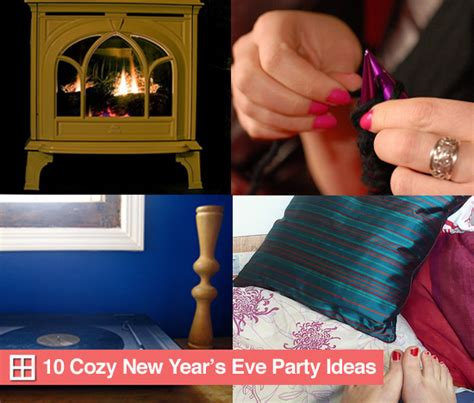 10 cozy decor ideas for your new year s eve dining room 10 cozy new year s eve party ideas popsugar home