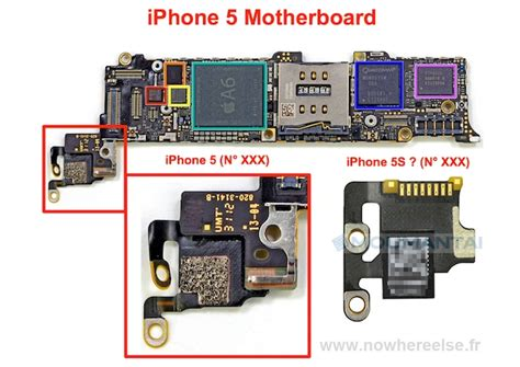 iphone motherboard layout purported image of next iphone s motherboard leaks