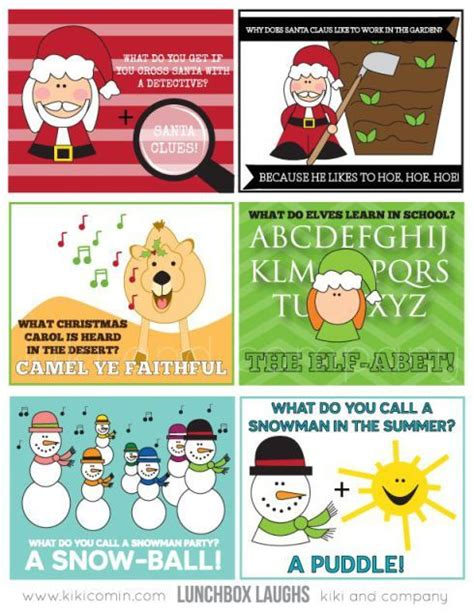 printable new years jokes free printable lunch box notes for the entire year jokes