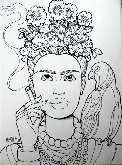 libro frida kahlo colouring books frida kahlo nelson failing the art colony coloring book frida kahlo