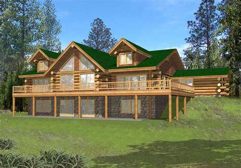 log homeplans log home design ghd 1068 15638