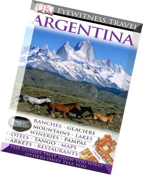 weirdbook 37 books argentina dk eyewitness travel guides dorling