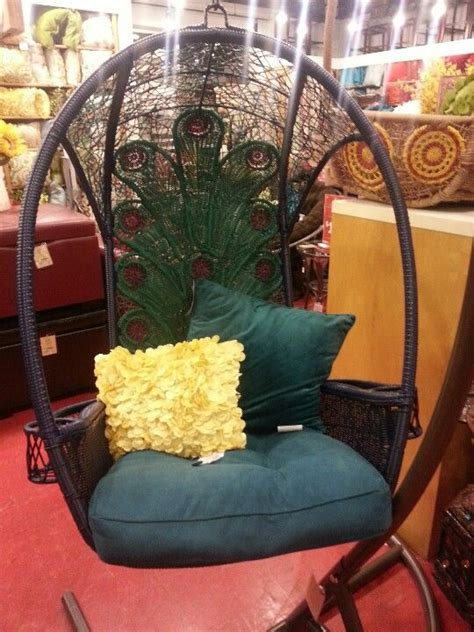 peacock swing chair peacock swing chair outdoordecor pinterest