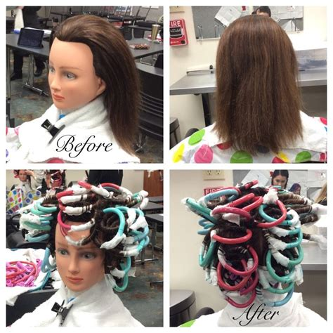 beauty school perm 68 best images about cosmetology school days on pinterest