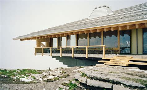 alpine architecture alpine cable car station finds new life as a cantilevering