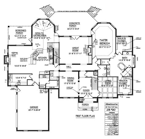 Dream Home Blueprints | luxury home floor plans dream home floor plans floor