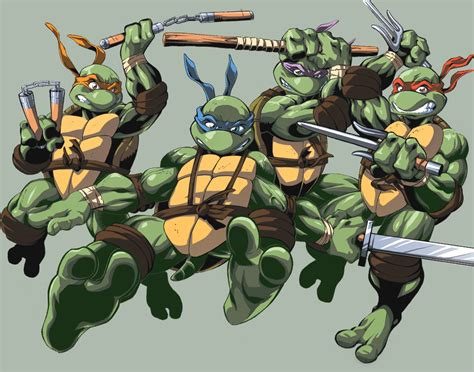 Mutant Turtles L by Gaming Rocks On Anime Comic 5