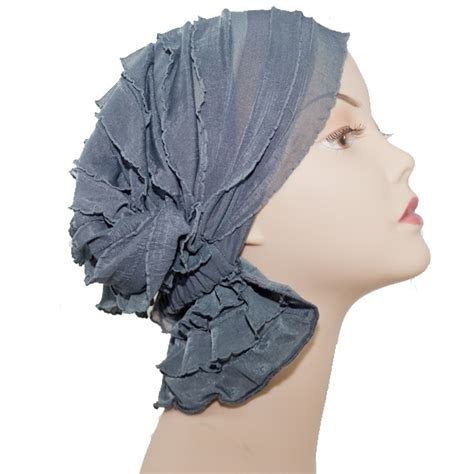 simple hair bandana for covering patch of bald head for ladies chemo beanies the original slip on head cover for women in