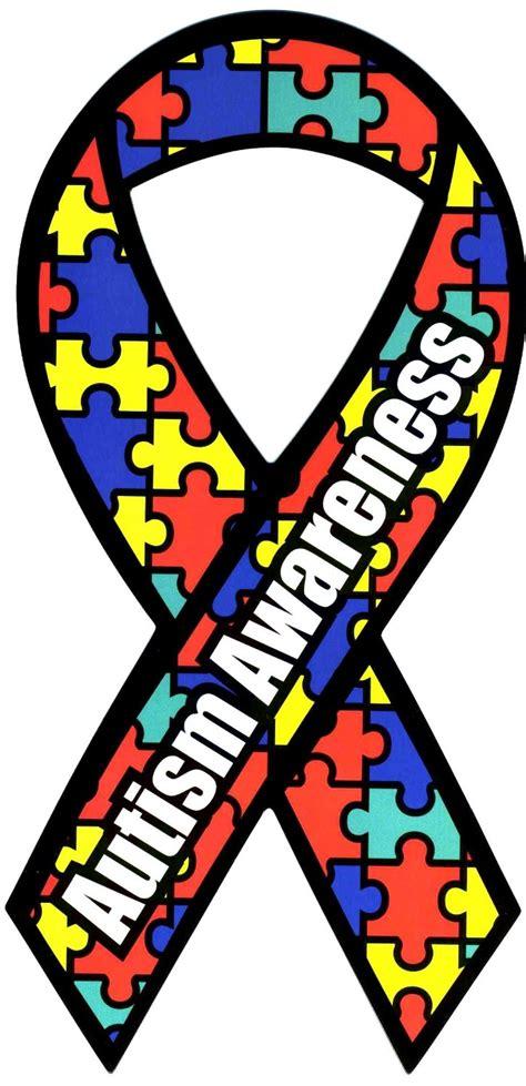 autism awareness colors autism awareness ribbon clipart best