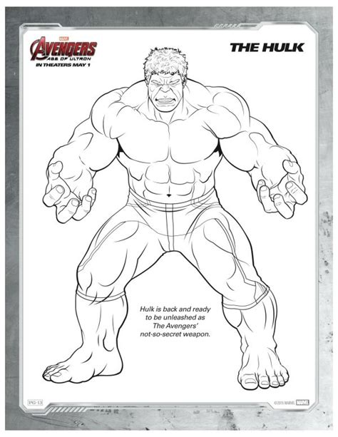 avengers birthday coloring pages free printable marvel avengers hulk coloring page