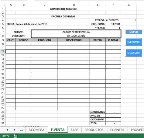 ejemplo de hoja de servicio diaria 1000 ejemplos de sistema de gestion facturacion e inventario en excel 24