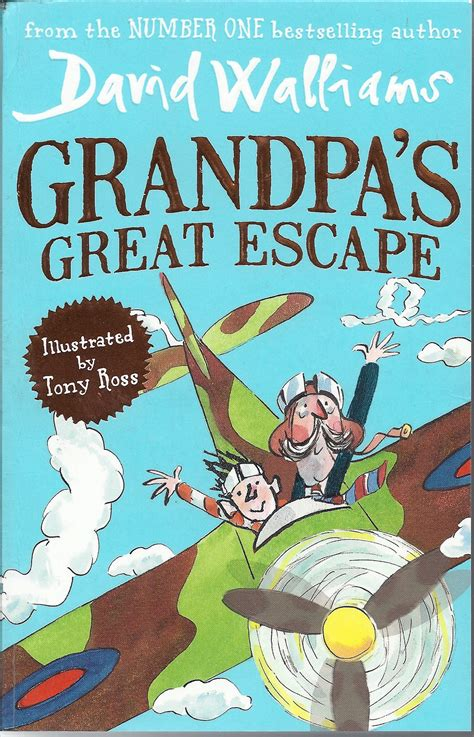0008183422 grandpa s great escape grandpa s great escape by david walliams illus tony ross