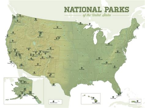 17 best ideas about usa 17 best ideas about national parks map on
