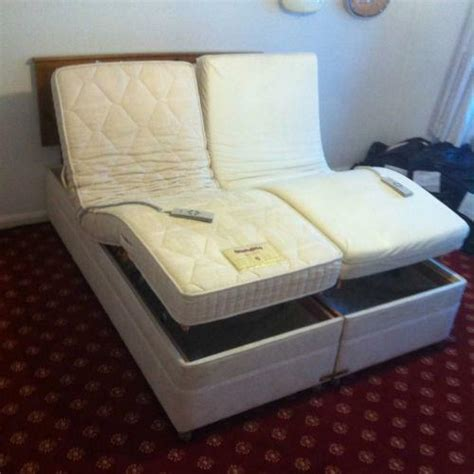 Adjustable Bed Electric Uk 0a by Adjustable Electric Beds Ebay