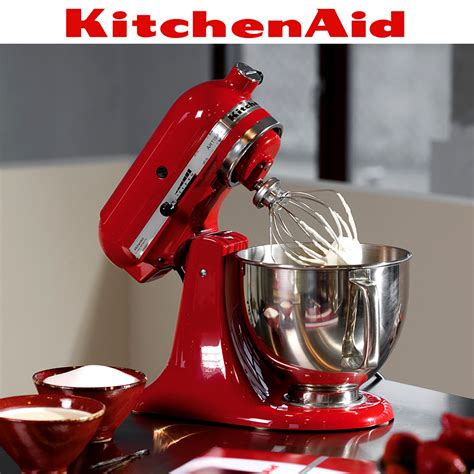 KitchenAid   Artisan Stand Mixer 5KSM125PS   Empire Red   Cook
