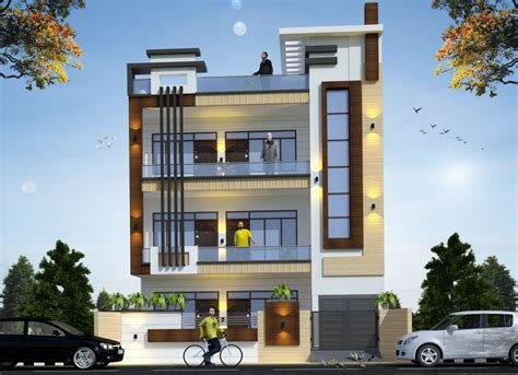 pin  arya    elevation house front design house