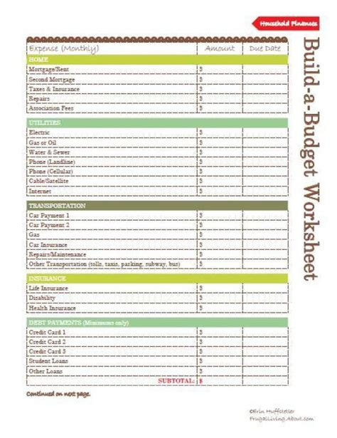 Budgeting Money Worksheets by 7 Best Images Of Weekly Home Money Worksheets Printable