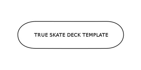 skateboard deck template true skate by true axis touch arcade
